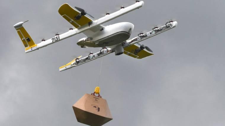 Tűzoltó drónok tesztelését tervezi a Google kép