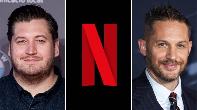 A rajtaütés rendezője Tom Hardy-val készít filmet a Netflixre kép