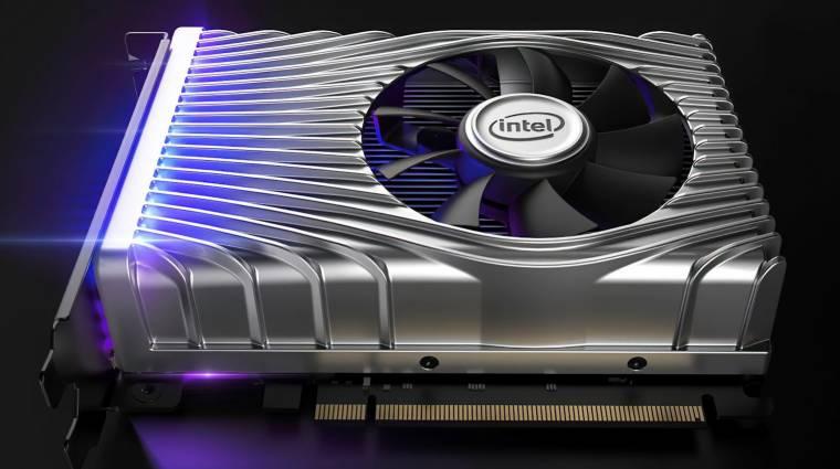 Ezt lehet most tudni az Intel készülő videokártyáiról kép