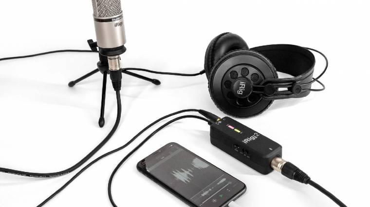 Mostantól még profibb módon köthetünk mikrofont a telefonunkra kép