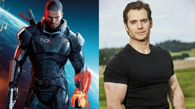 Mass Effect adaptáció készülhet Henry Cavill főszereplésével bevezetőkép