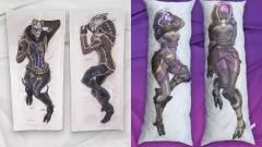 Napi büntetés: az új Mass Effect még sehol, de szerencsére tematikus ölelőpárnákat már vásárolhatunk kép
