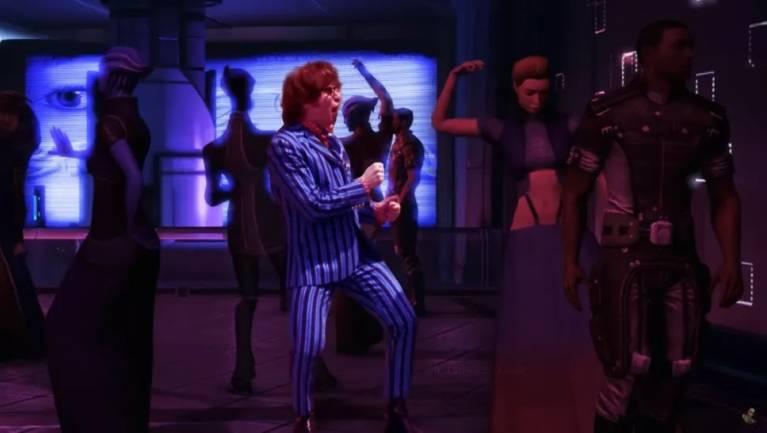 Napi büntetés: ilyen lenne a Mass Effect Austin Powersszel a főszerepben fókuszban