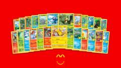 Már a Happy Meal-es Pokémon kártyákat is elérte a felvásárlási láz kép