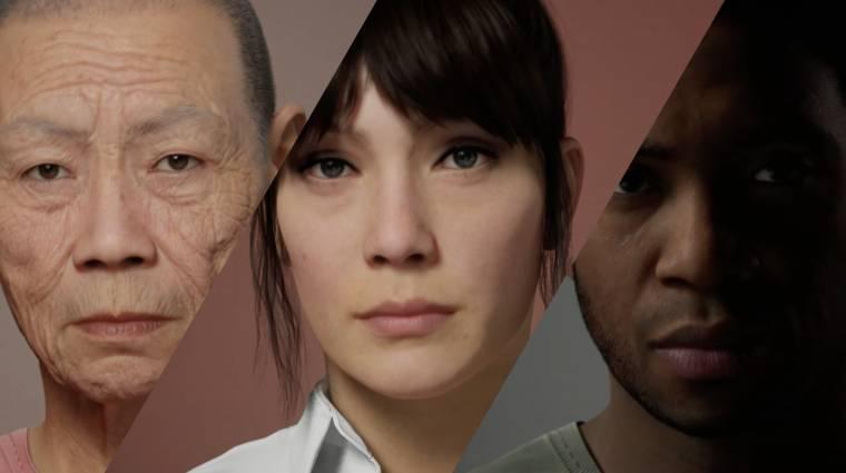 Villámgyorsan készíthetnek élethű karaktereket a játékfejlesztők az Epic Games új eszközével kép
