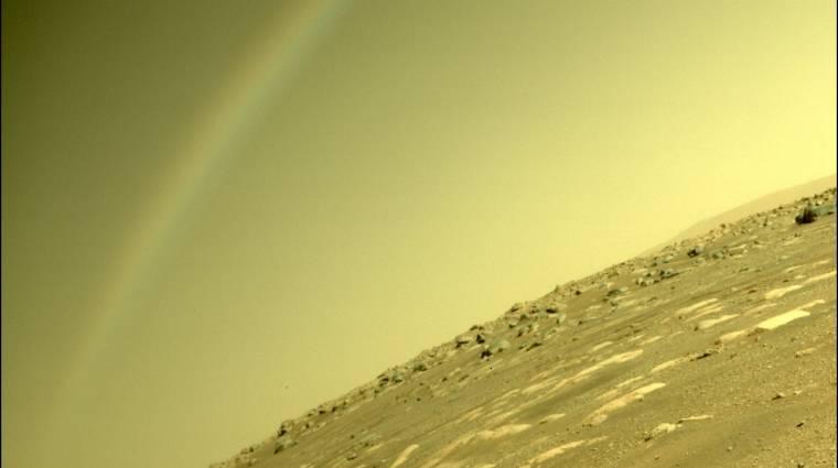 Szivárványt fotózott a Marson a Perseverance? kép