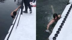 Éjjel a jéghideg vízbe ejtette az iPhone-ját, reggel becsobbant érte, működött kép