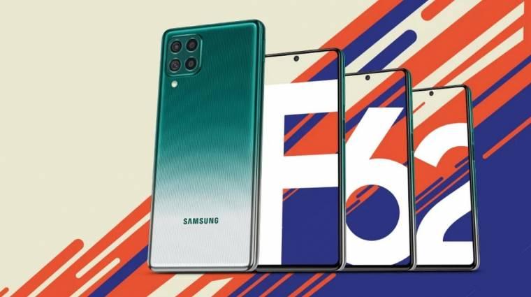 Akksiban erős a Samsung Galaxy F62 kép
