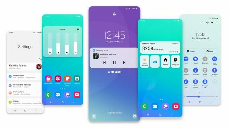 Régebbi mobilokra is elérhető a Samsung One UI 3.1 frissítés kép