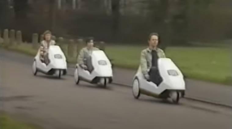Sosem leszünk olyan menők, mint azok, akik 1985-ben Sinclair e-bike-ban csapatták kép