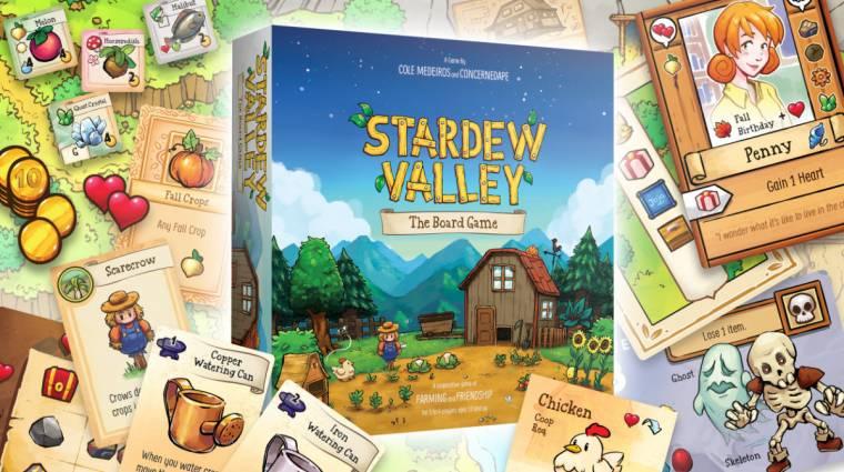 Varázslatos a Stardew Valley társasjáték bevezetőkép