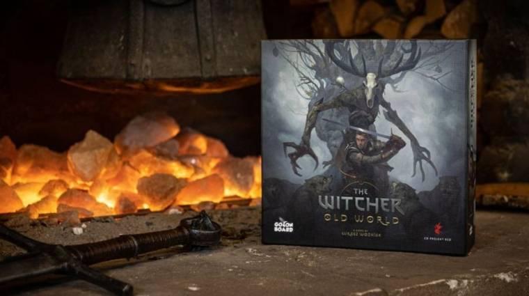 Hatalmas siker a The Witcher társas Kickstarter kampánya bevezetőkép