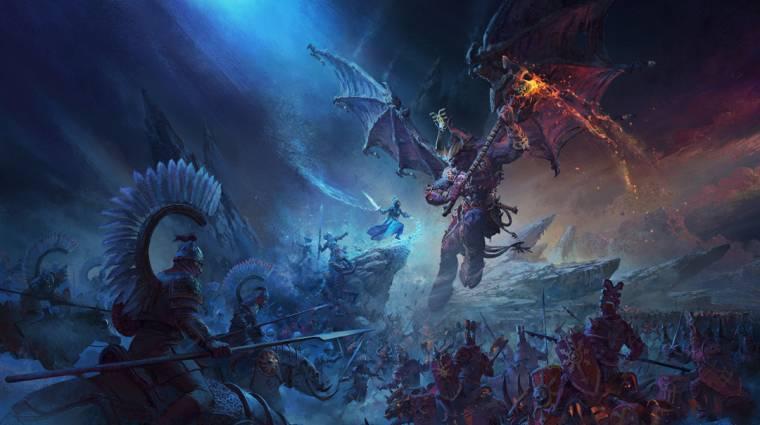 Meg fognak izzasztani a Total War: Warhammer 3 újfajta csatái bevezetőkép