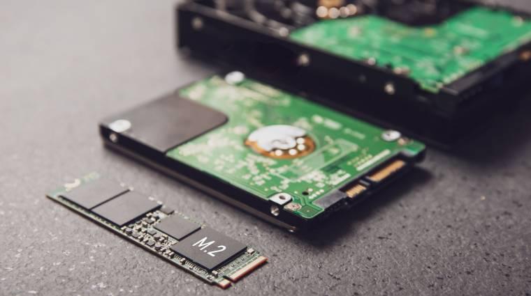Átvették az uralmat az SSD-k a hagyományos merevlemezek felett kép