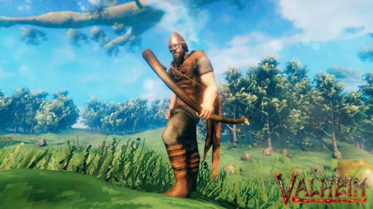 Miért olyan nagy sláger a Valheim, a Steam új sikerjátéka? bevezetőkép