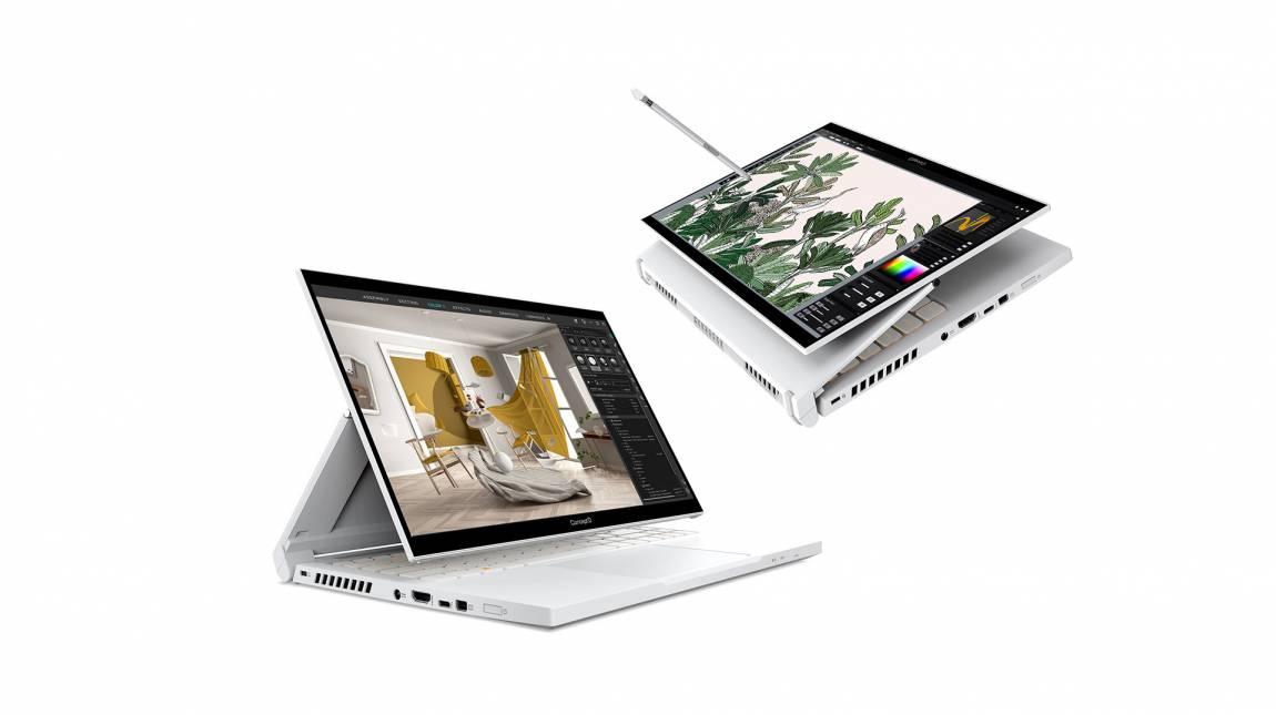 Acer ConceptD 3 Ezel teszt - rajzolgass a laptopodra kép
