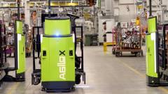 Robottargoncákkal kisimított folyamatok kép
