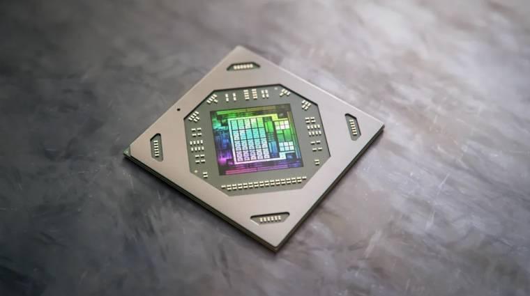 Benchmarkon az AMD új laptopos GPU-ja, a Radeon RX 6700M kép