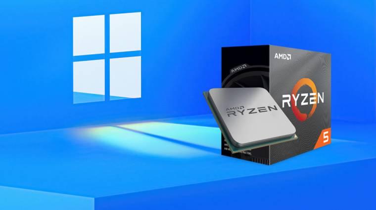 Tovább rontott a Ryzen processzorok teljesítményén a Windows 11 javítása kép