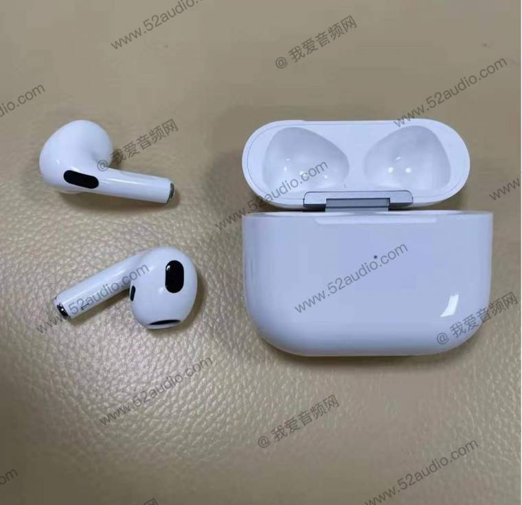 Leaking images show what AirPods 3 can look like