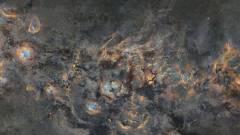Tizenkét év fotóiból állt össze a Tejútrendszer lenyűgözően részletes képe kép