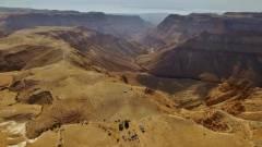 Drónokat küldtek a Horror-barlanghoz, így akadtak rá a hiányzó bibliai próféciákra kép
