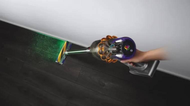 Ez a porszívó lézeres érzékelővel fedezi fel a koszt, és igazodik hozzá kép