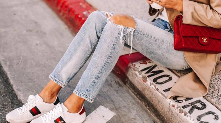 Virtuális cipőt dobott piacra a Gucci, 5500 forintért bárki gazdagnak érezheti magát kép
