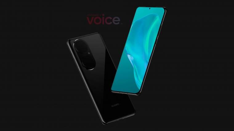 Hatalmas kameraszigettel fog érkezni a Huawei P50 Pro kép