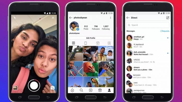 Már 170 országban elérhető a reklámmentes Instagram Lite kép