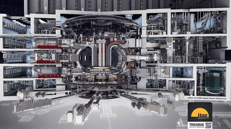 Idén nyáron tesztelik a világ első nukleáris fúziós reaktorát kép