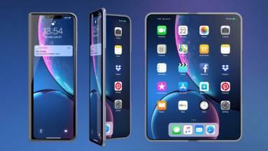 Az iPhone 15 lehet az első összehajtható almás mobil kép