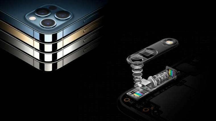 Periszkópos kamerát szabadalmaztatott az Apple kép