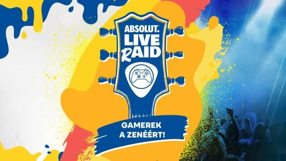 Absolut LIVE rAID - hallgass koncerteket, támogass zenészeket négy napon át velünk! kép