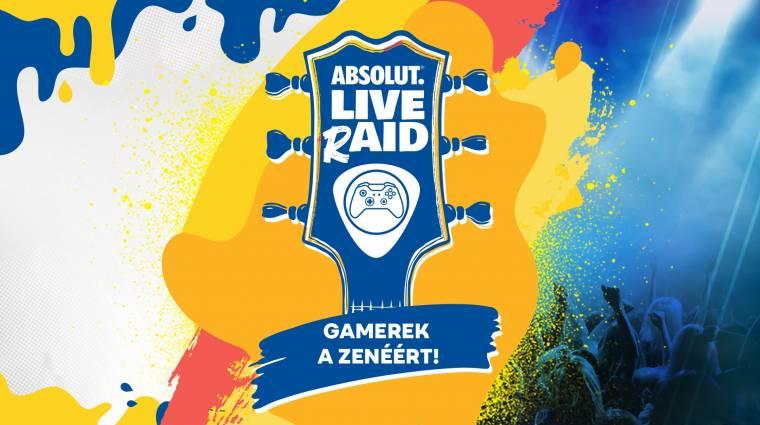 Absolut LIVE rAID - hallgass koncerteket, támogass zenészeket négy napon át velünk! bevezetőkép