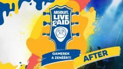 Ne feledd, április 11-ig támogathatod az Absolut LIVE rAID fellépőit kép