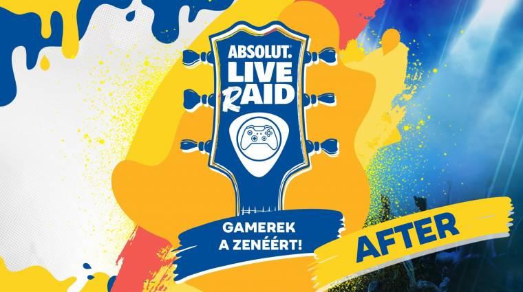 Ne feledd, április 11-ig támogathatod az Absolut LIVE rAID fellépőit bevezetőkép