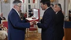 Lovász László, a Magyar Szent István Rend kitüntetettje kép