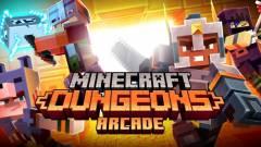 Jönnek a Minecraft Dungeons árkád gépek kép