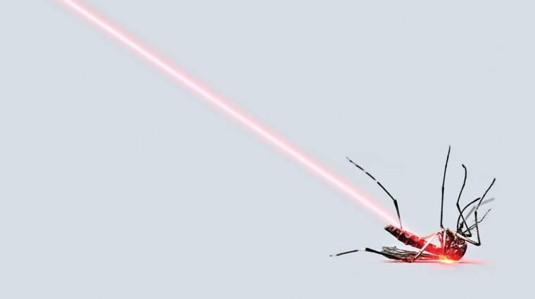 Az oroszok már MI által vezérelt gyilkos lézerrel irtják a szúnyogokat kép