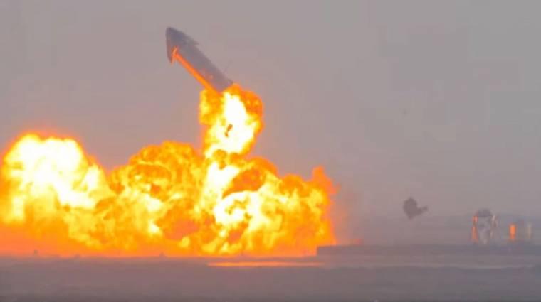 Kiderült, mi okozta a SpaceX Starship űrhajójának felrobbanását kép