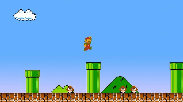 Több mint 200 millió forintért kelt el egy Super Mario kazetta bevezetőkép