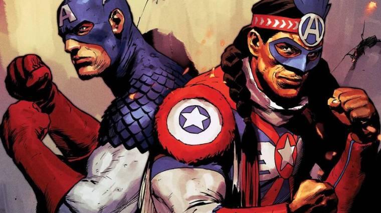 A Marvel most épp egy amerikai őslakos Amerika Kapitányt dobott be bevezetőkép
