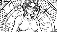 Ingyenes színezővel ünnepel a Tomb Raider, töltsd le te is! kép
