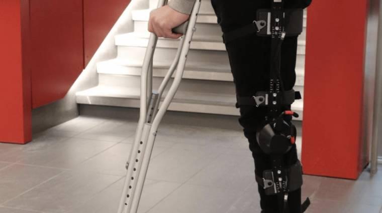 MI által vezérelt exoskeletont terveztek egy kanadai egyetem mérnökei kép