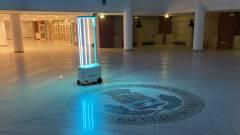 Magyar robot fertőtleníti a jövő autóit? kép
