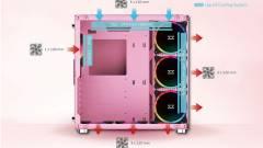 A Xigmatek rózsaszín gépházánál sziruposabb élmény nem lesz ma kép