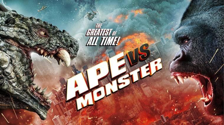 Napi büntetés: a Godzilla vs. Kong mintájára érkezik az Ape vs. Monster bevezetőkép