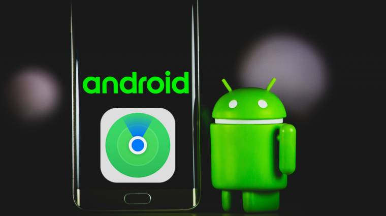 Az Apple közösségi eszközkeresését másolhatja az Android kép