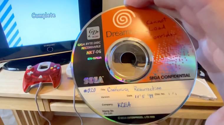 Valaki véletlenül ráakadt egy elkaszált Dreamcast Castlevania játékra bevezetőkép